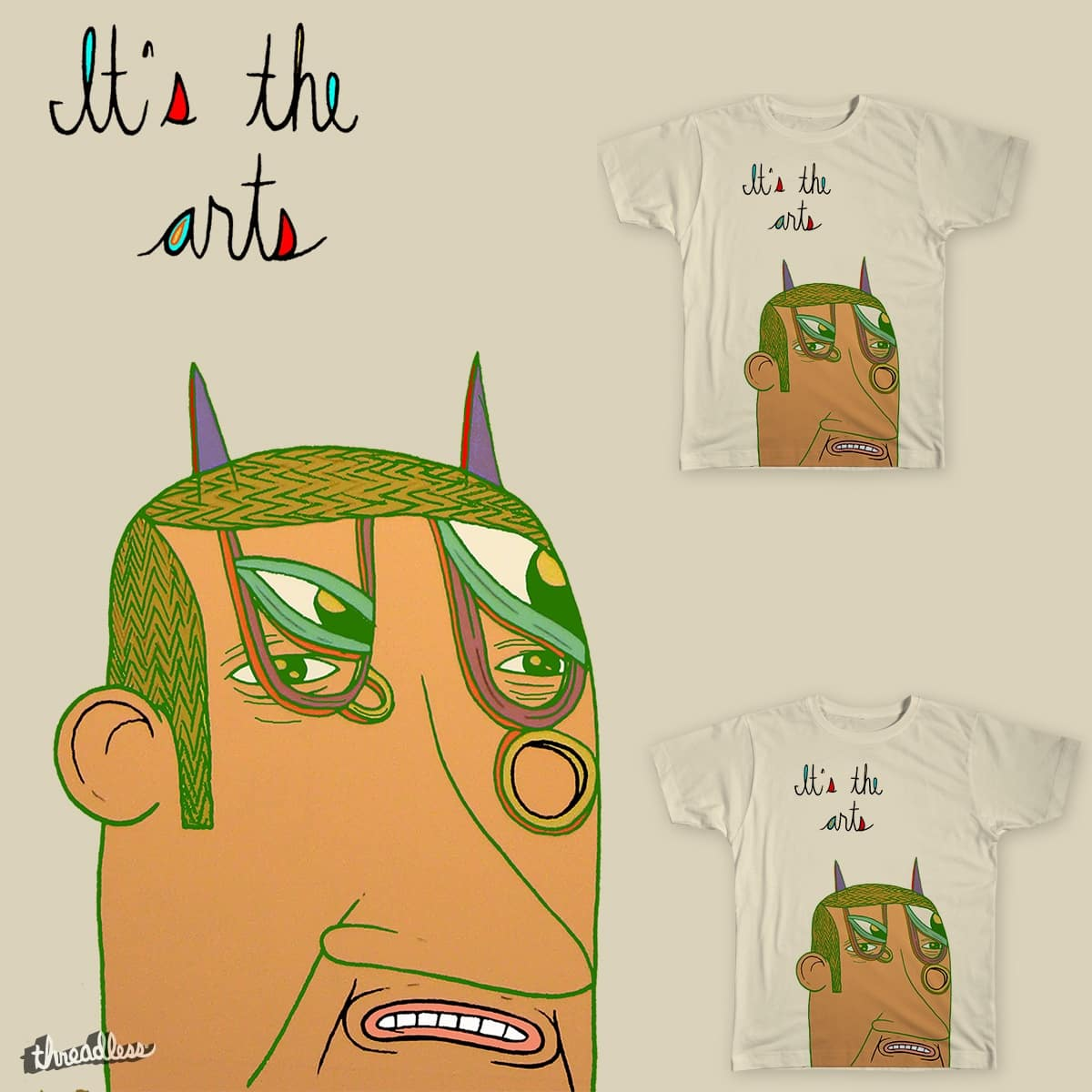 it's the arts by Peter Thompson on Threadless