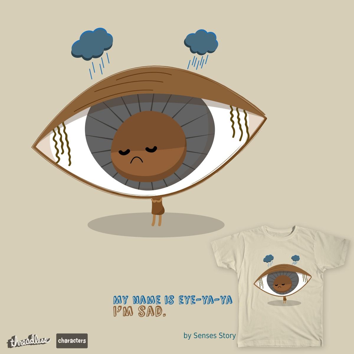 Sad eye by Poeyze on Threadless