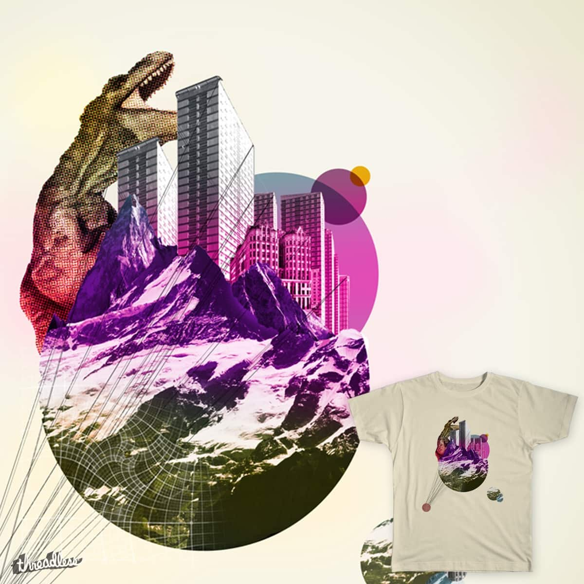 Dino-planet! by iamfish3r on Threadless