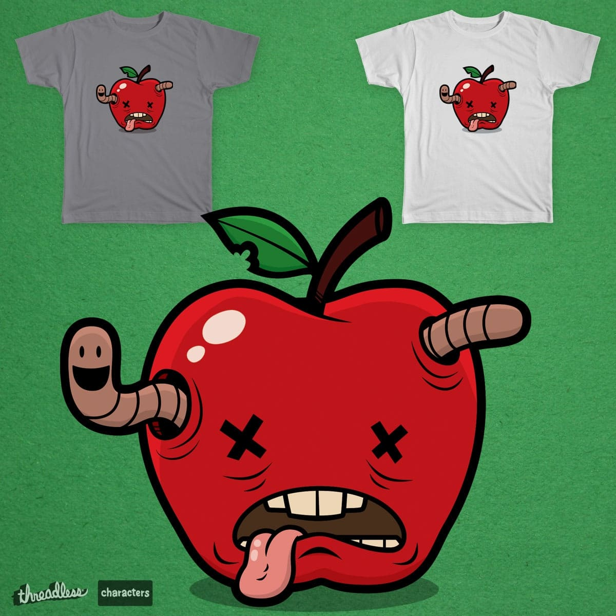 An Apple a Day by leishdawg on Threadless