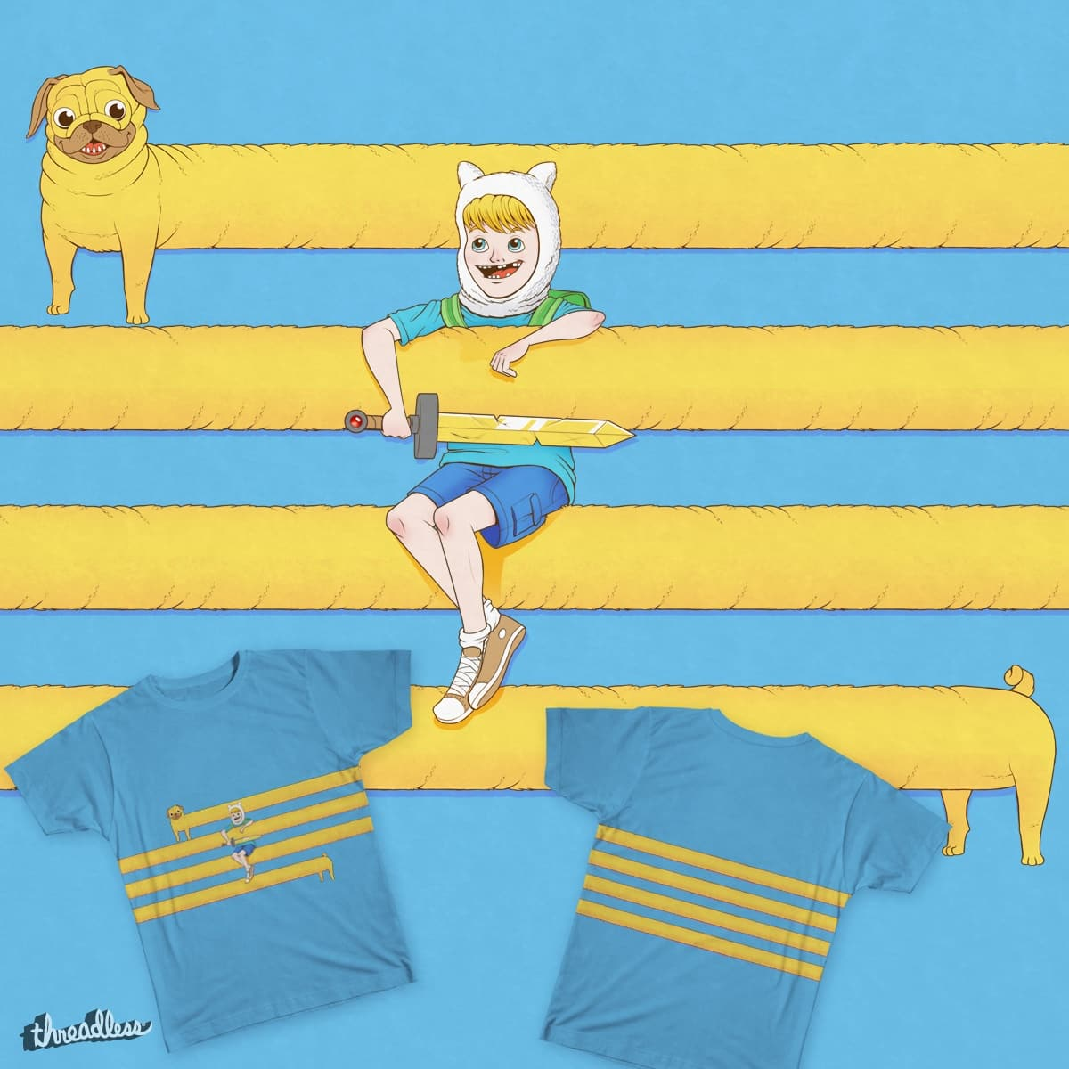 Adventure Hug by tihmoller on Threadless