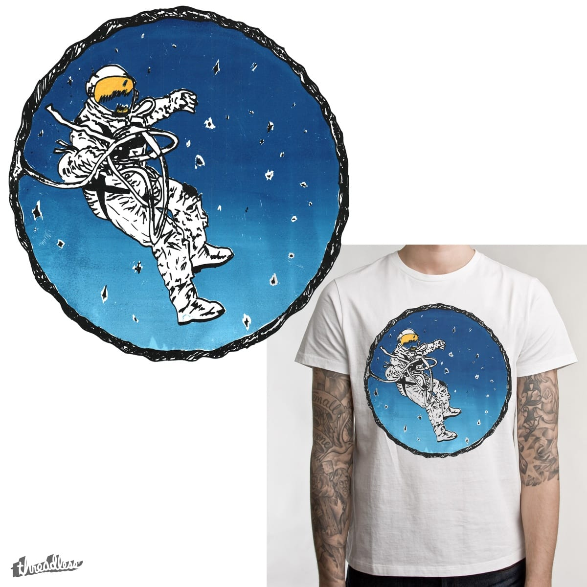 Hanging Ten by tbear990 on Threadless
