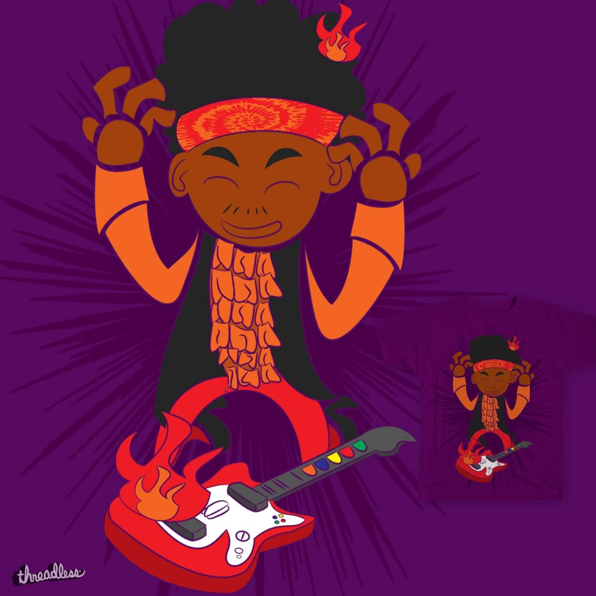 Lil' Hendrix by SaltySteveD on Threadless