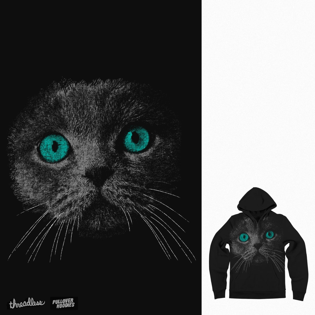 face of the cat by bulo on Threadless