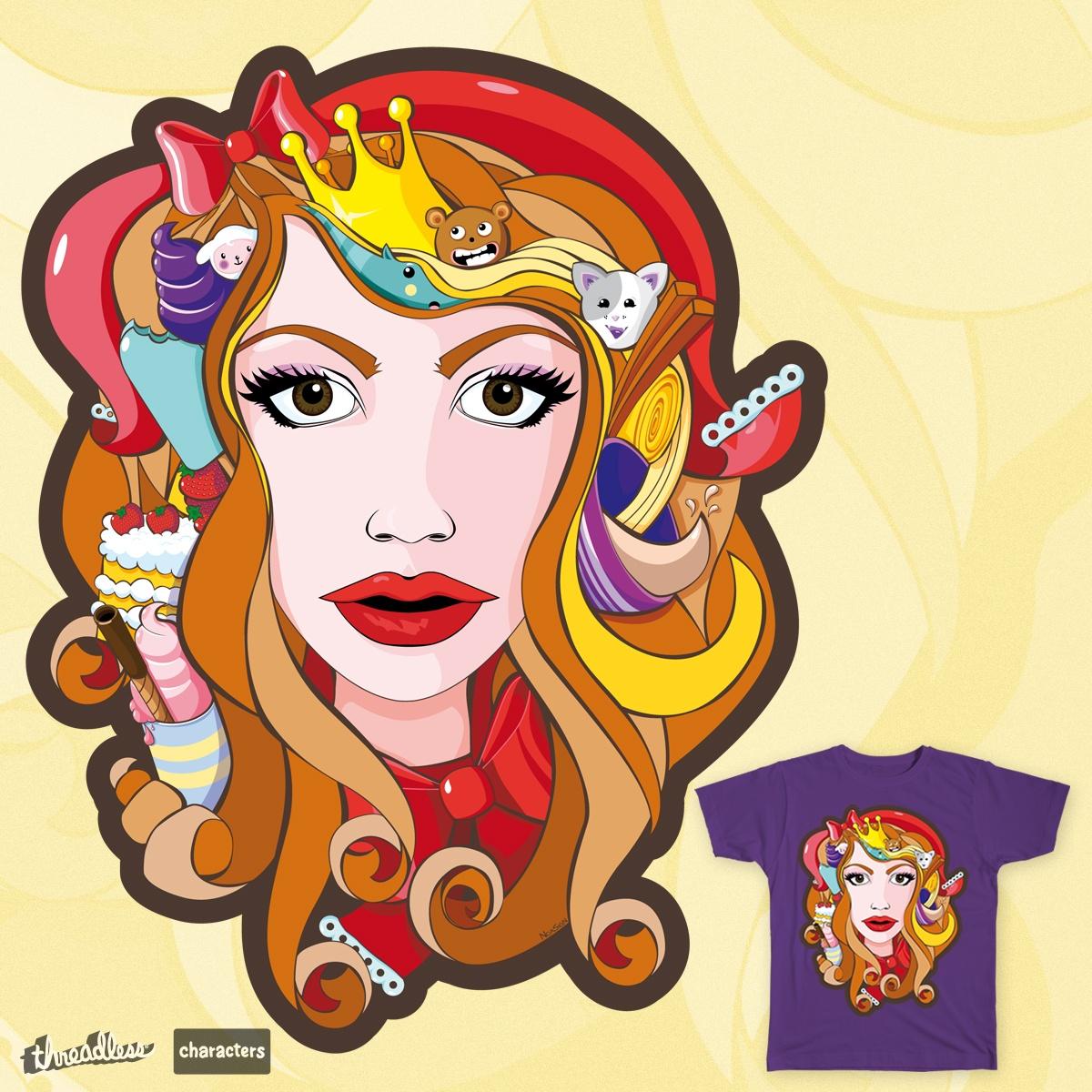 Lady Kawaii by NoaSign on Threadless