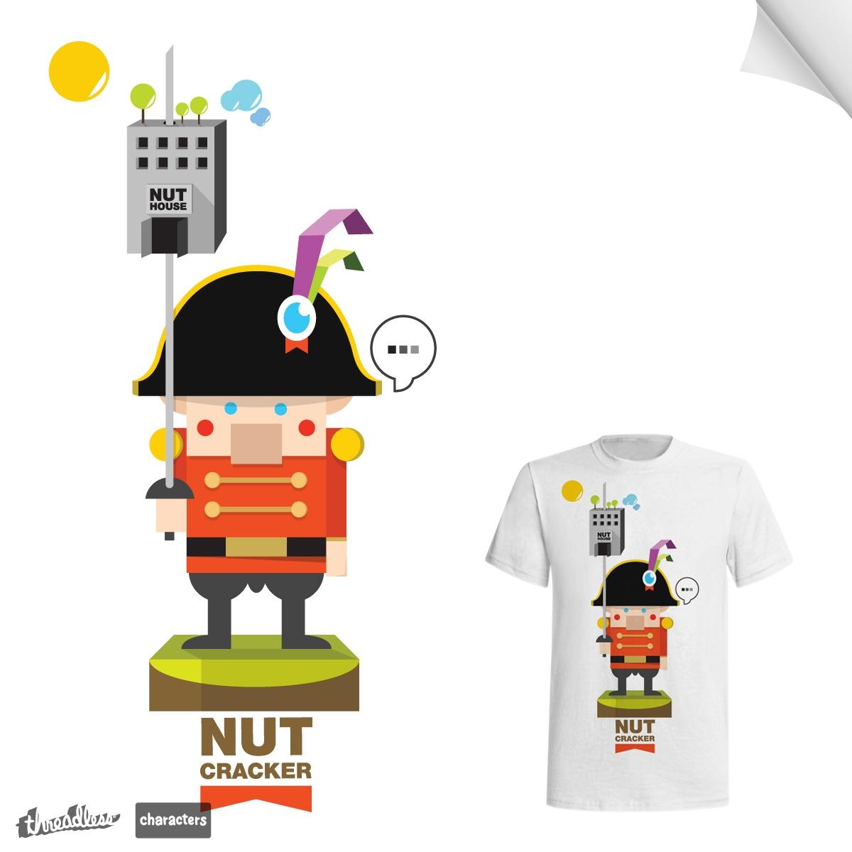 Nut Cracker by MarsBlackbird on Threadless