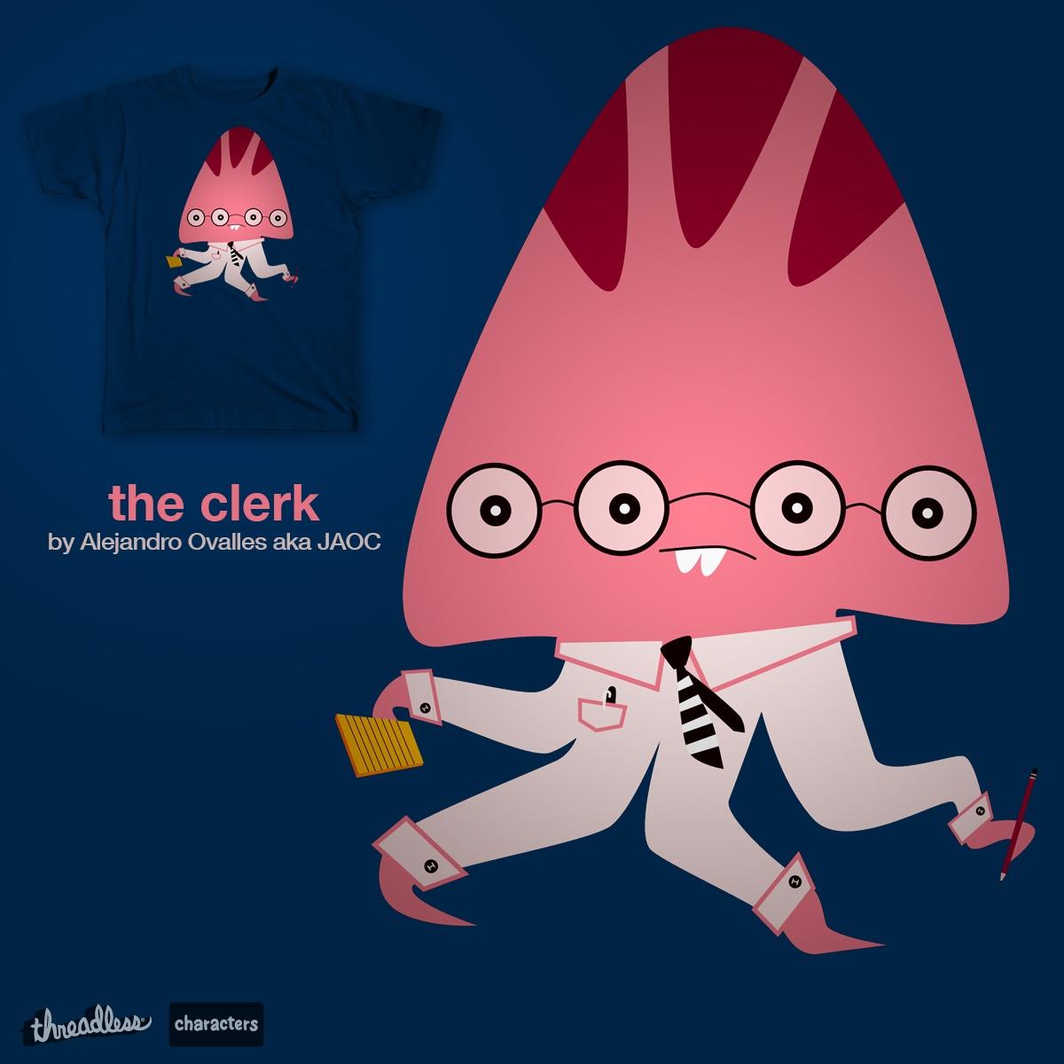 The clerk by jaoc28 on Threadless