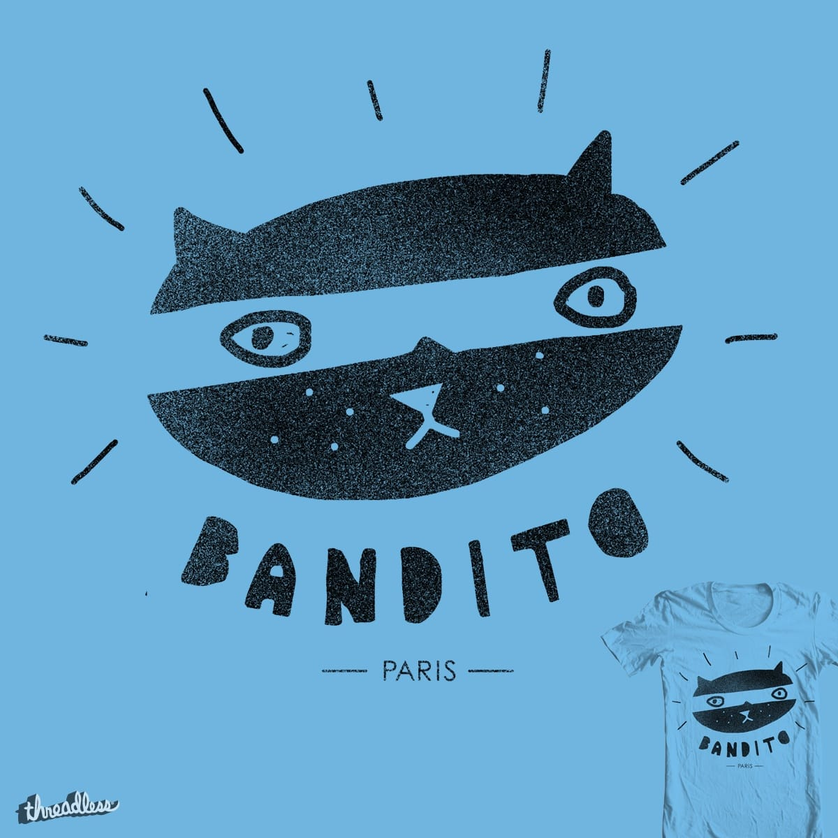 French Bandit by Farnell on Threadless