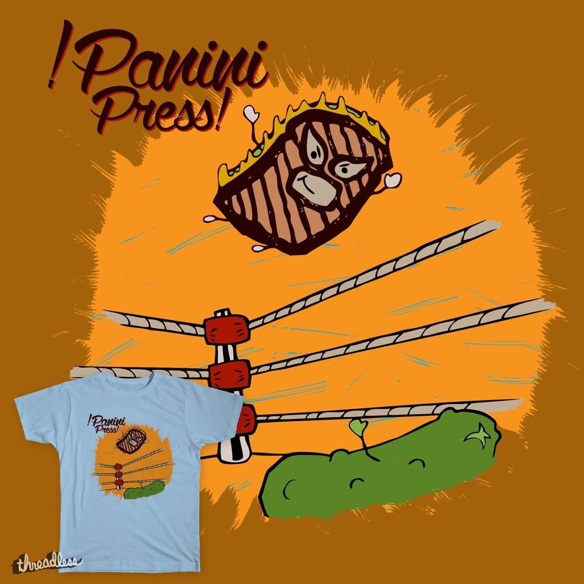 !PANINI PRESS! by leland.guinand88 on Threadless