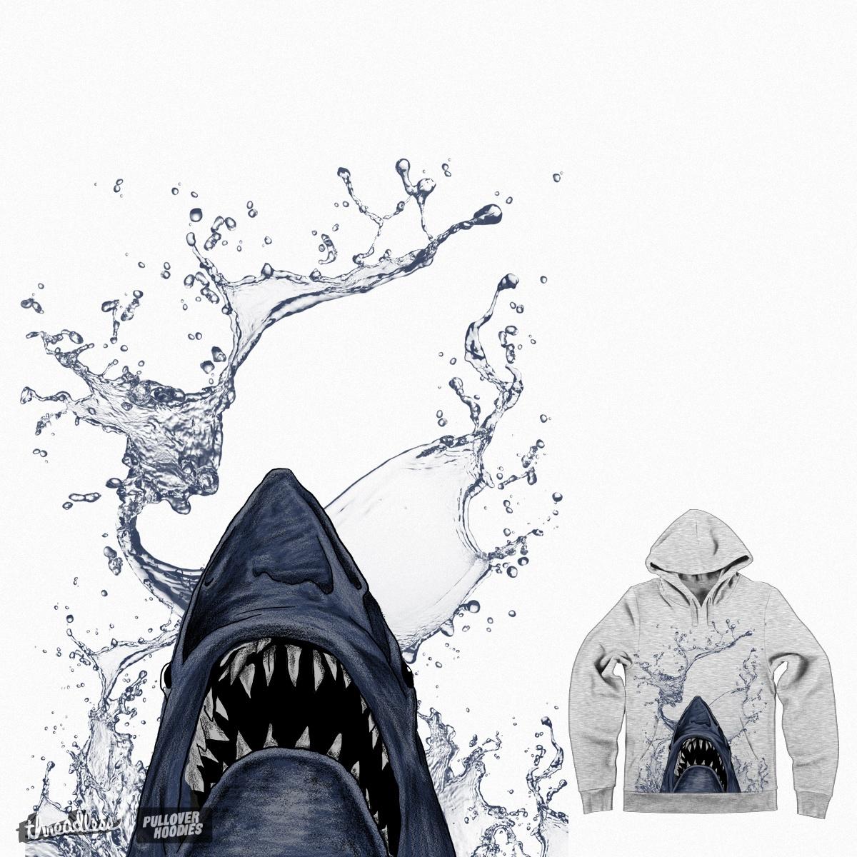 shark by gupikus on Threadless