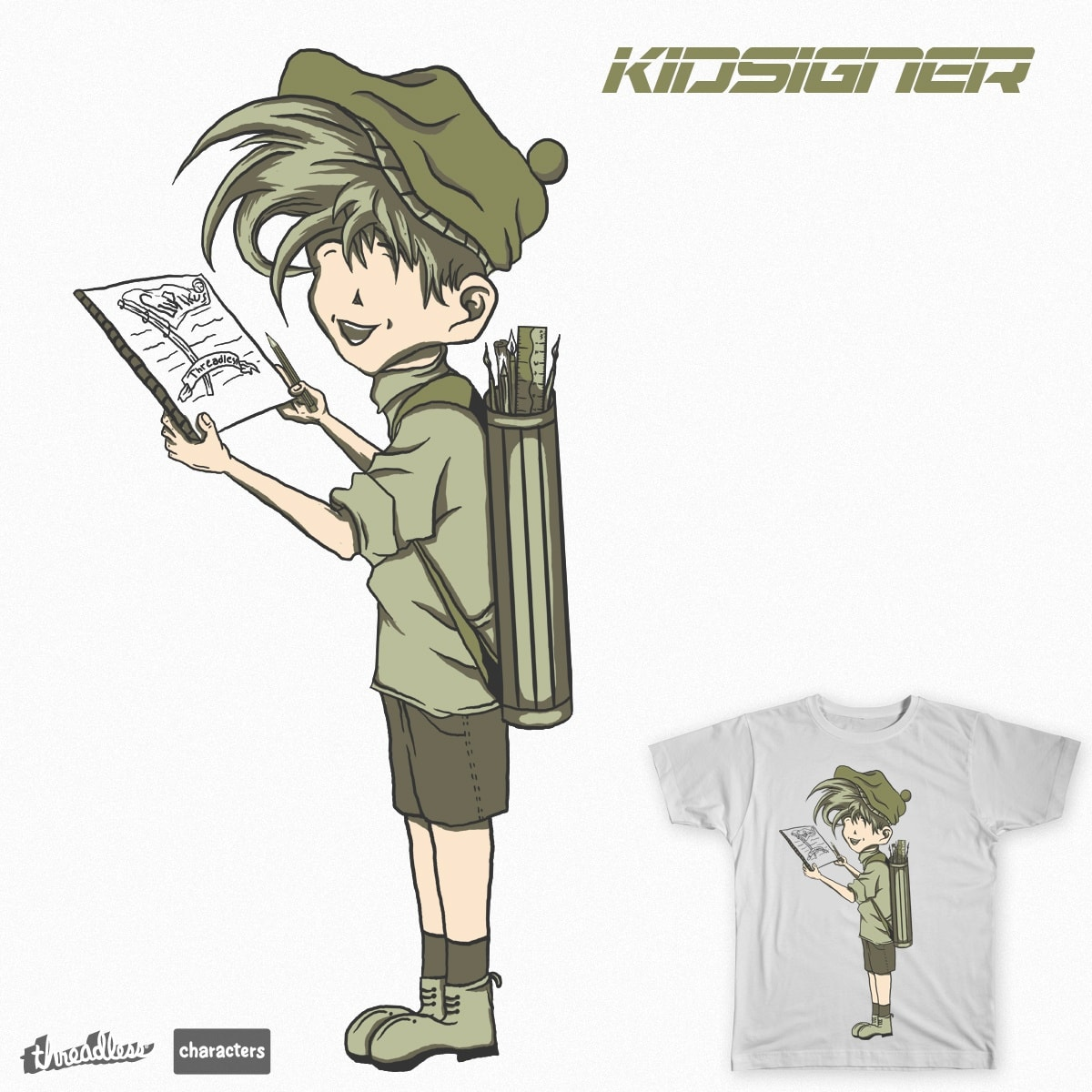 kidsigner by gupikus on Threadless