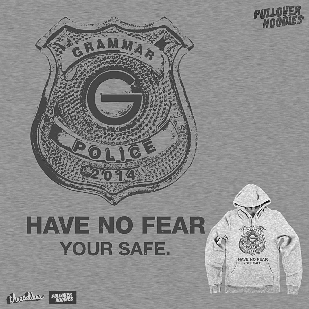 GRAMMER POLICE by rhobdesigns on Threadless