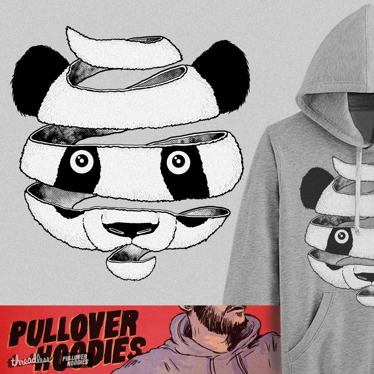 Panda by uptme on Threadless