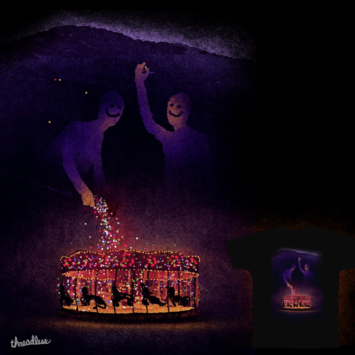 They hide the light by maksloe on Threadless
