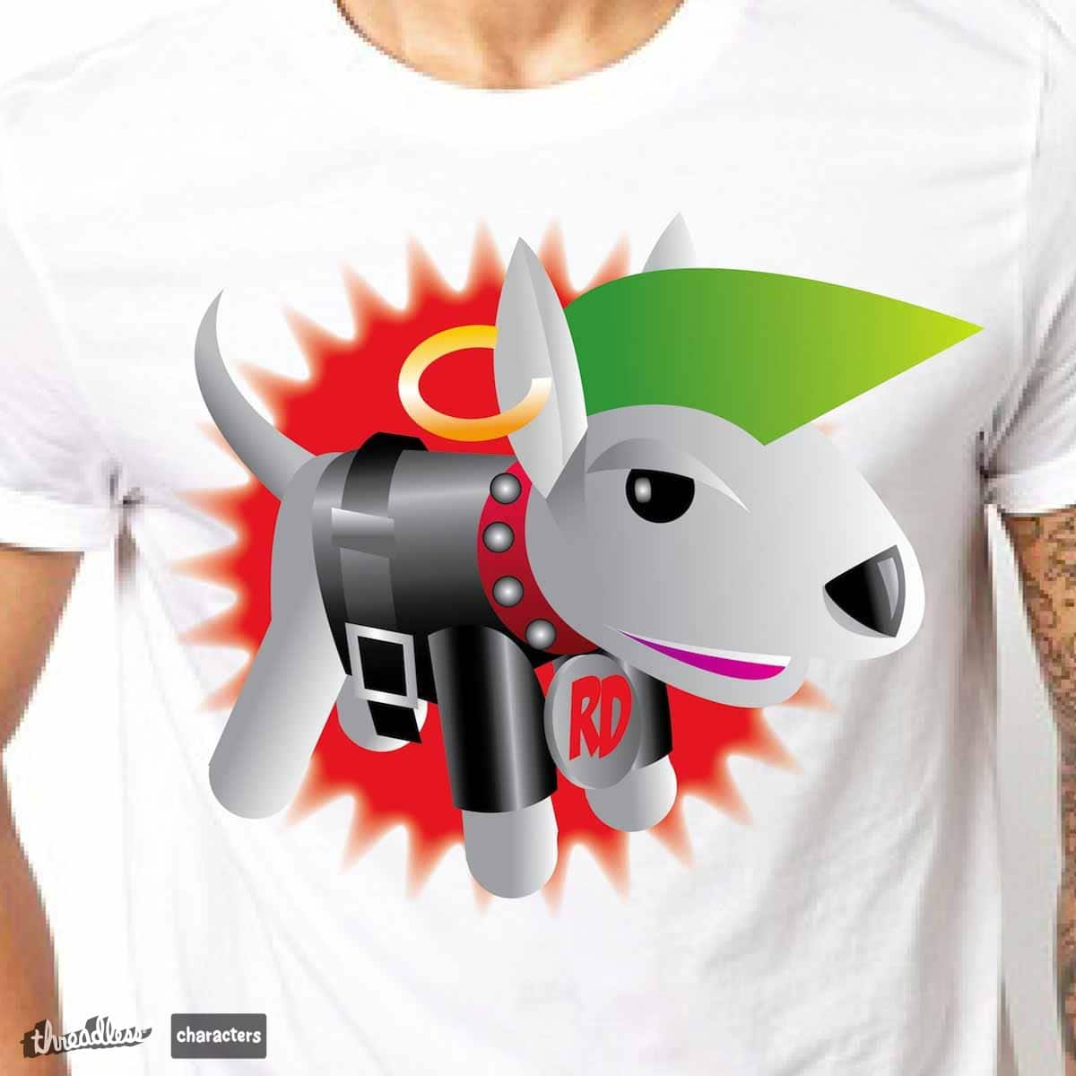 Rebel Dog by redskulz on Threadless