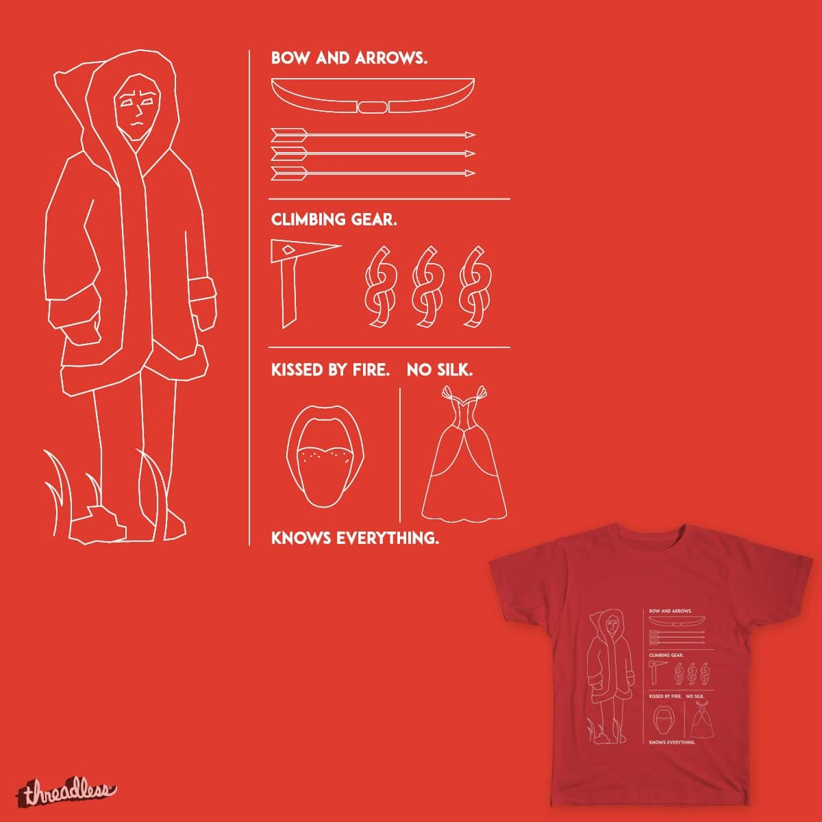 Kissed By Fire by HeyLex on Threadless