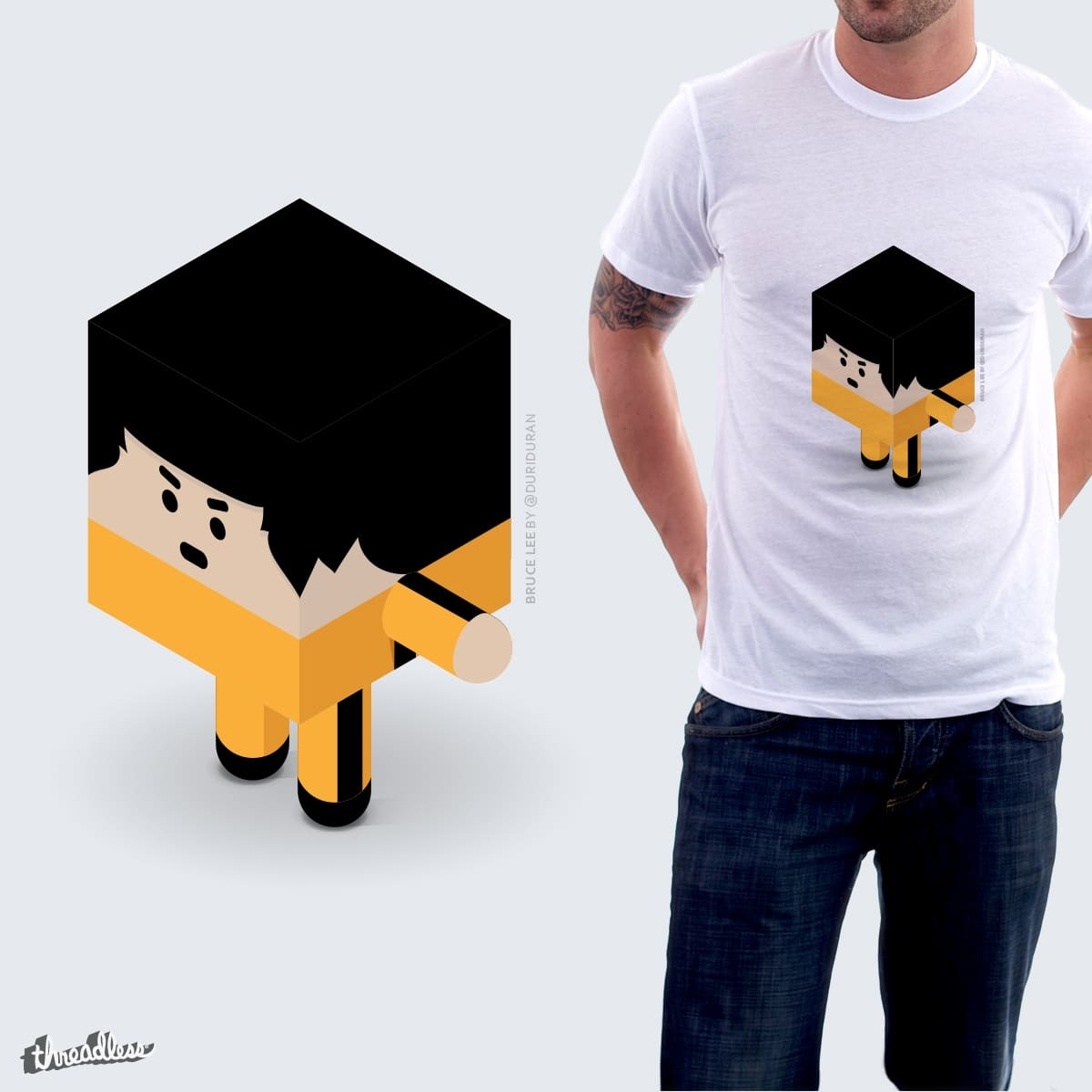 Bruce Lee by duriduran on Threadless