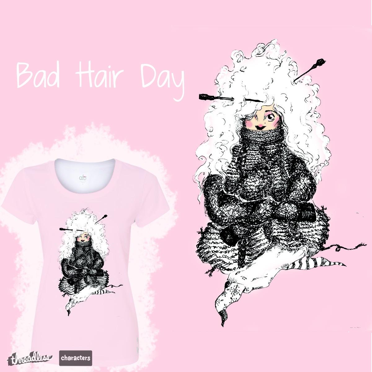 Bad Hair Day by elvmurray on Threadless