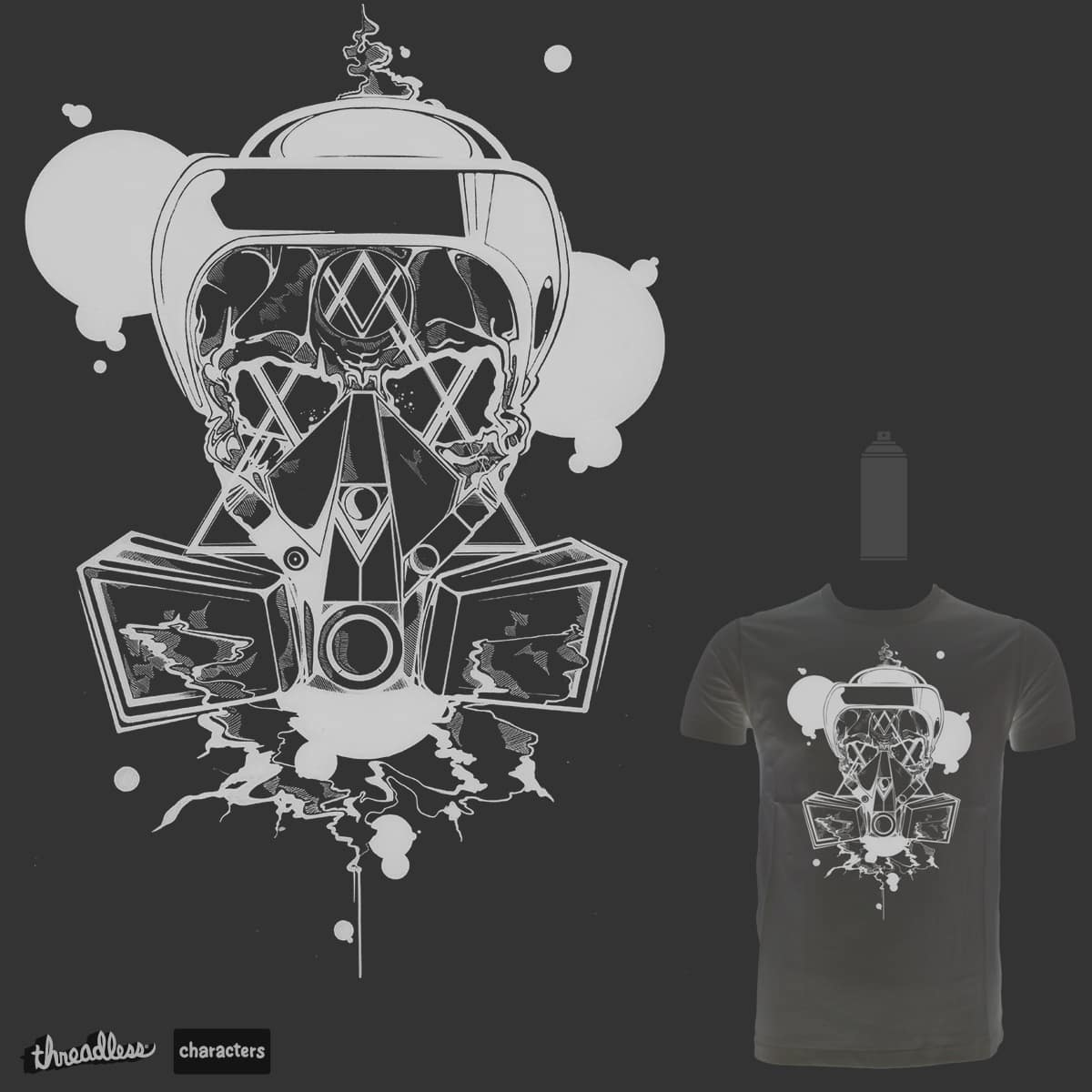Respirator by CASPRone on Threadless