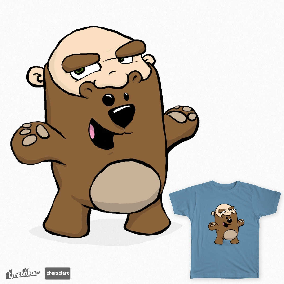 Teddy Beard by naters-art on Threadless