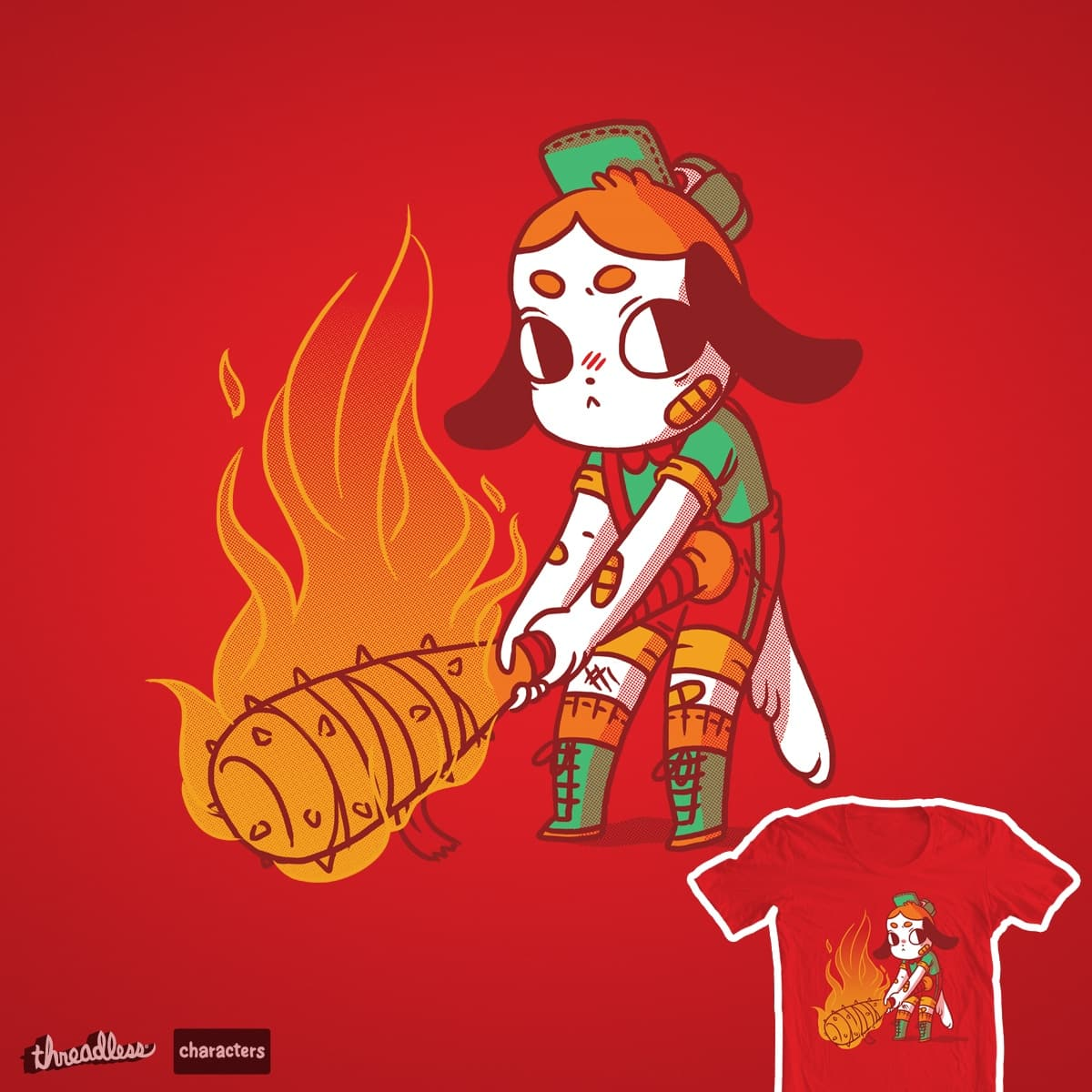 Batter Pup by TheInfamousBaka on Threadless