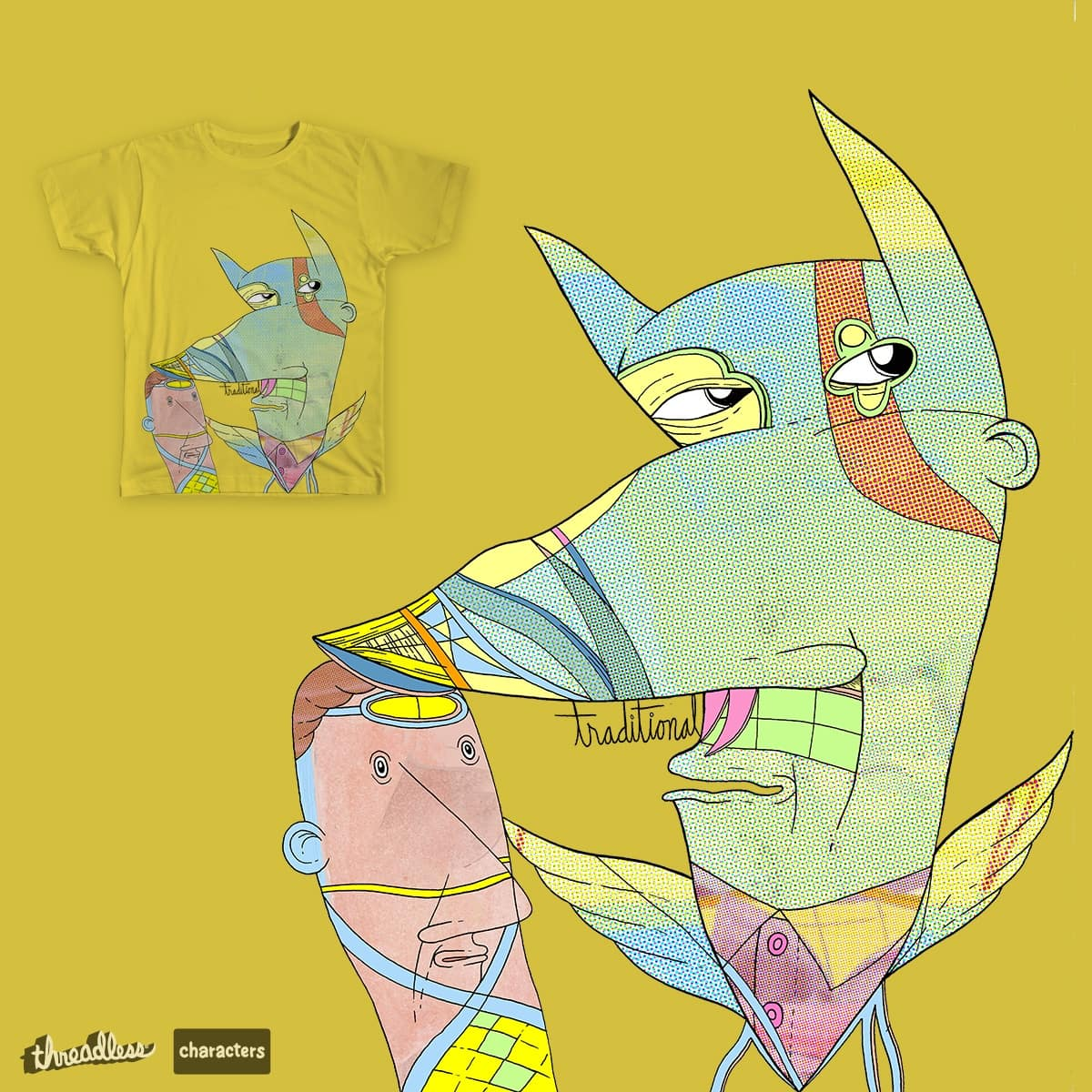 traditional by Peter Thompson on Threadless