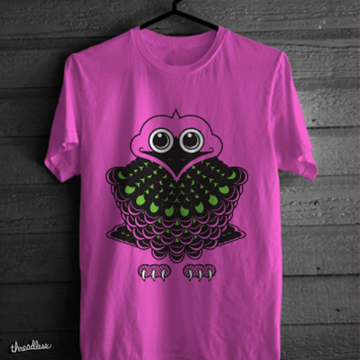 Pink Pigeon by Brad F on Threadless