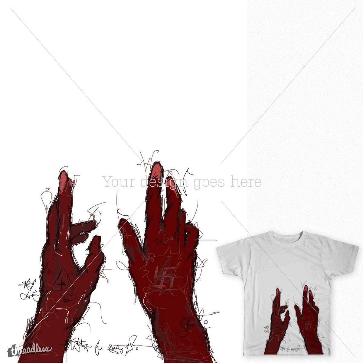 Reaching by austin05riney on Threadless