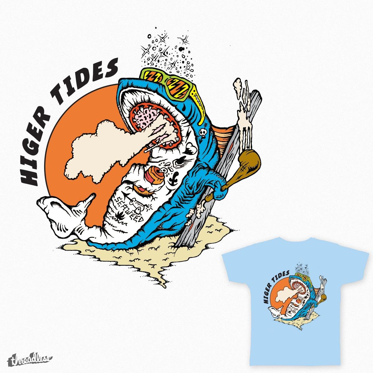 Higher Tides by conrad.m.dahl on Threadless