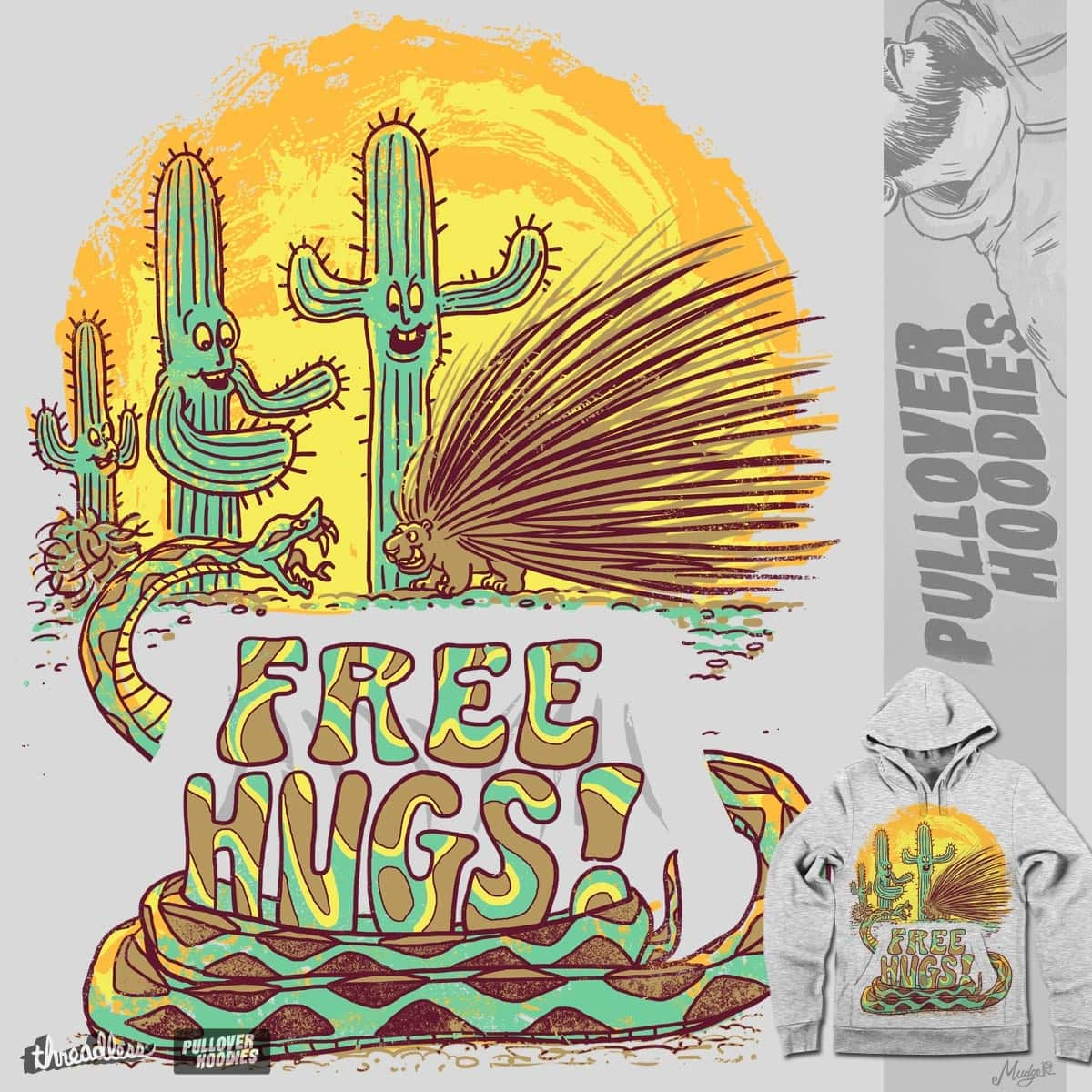 Wanting For  a Free Hug by MudgeStudios on Threadless