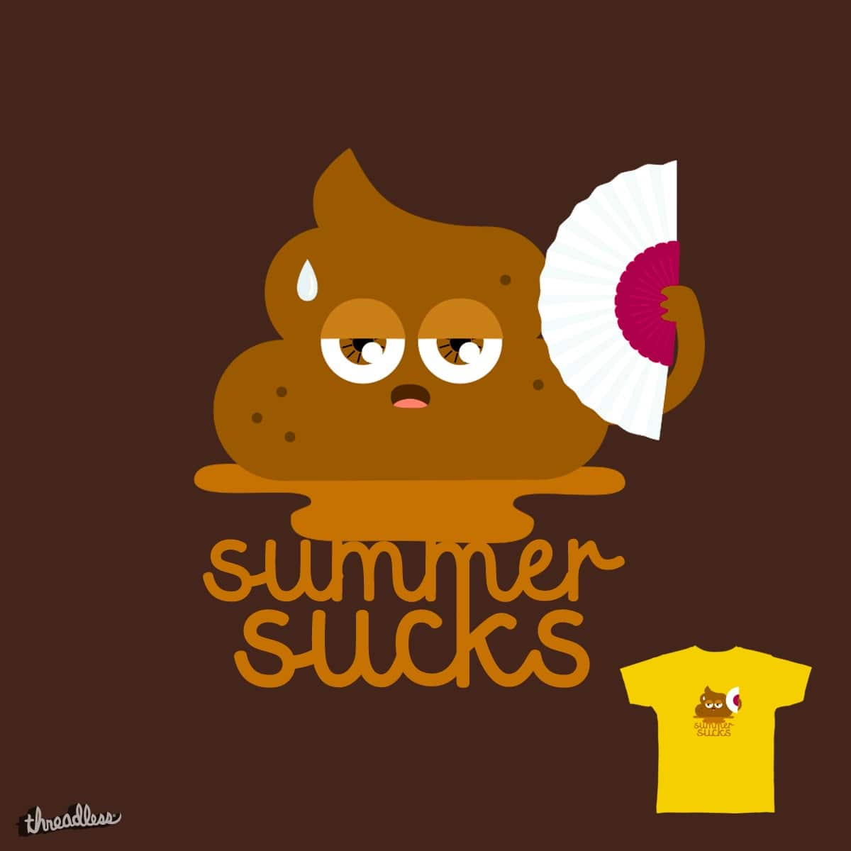 Summer Sucks by fran.solo on Threadless