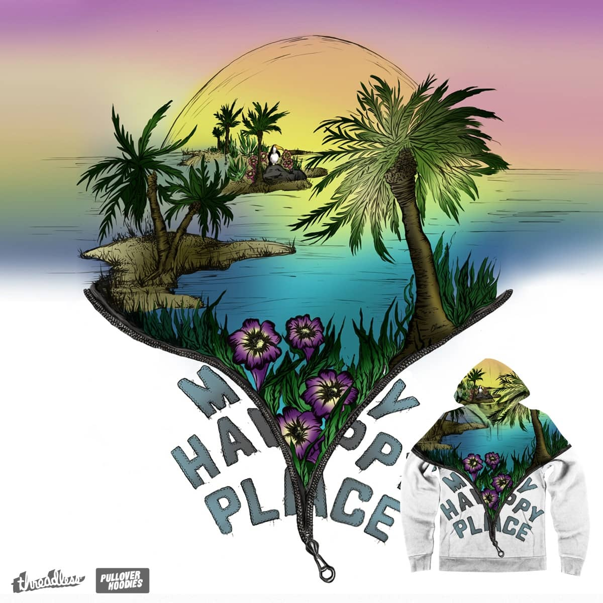 My Happy Place by ElanaRB on Threadless