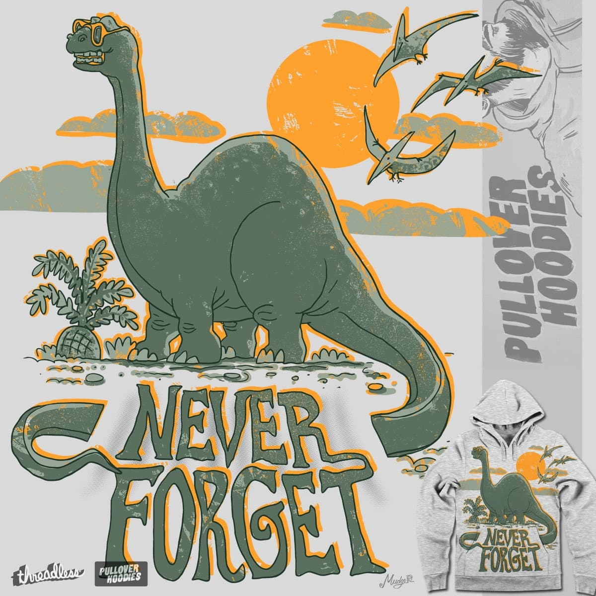 Never Forget by MudgeStudios on Threadless