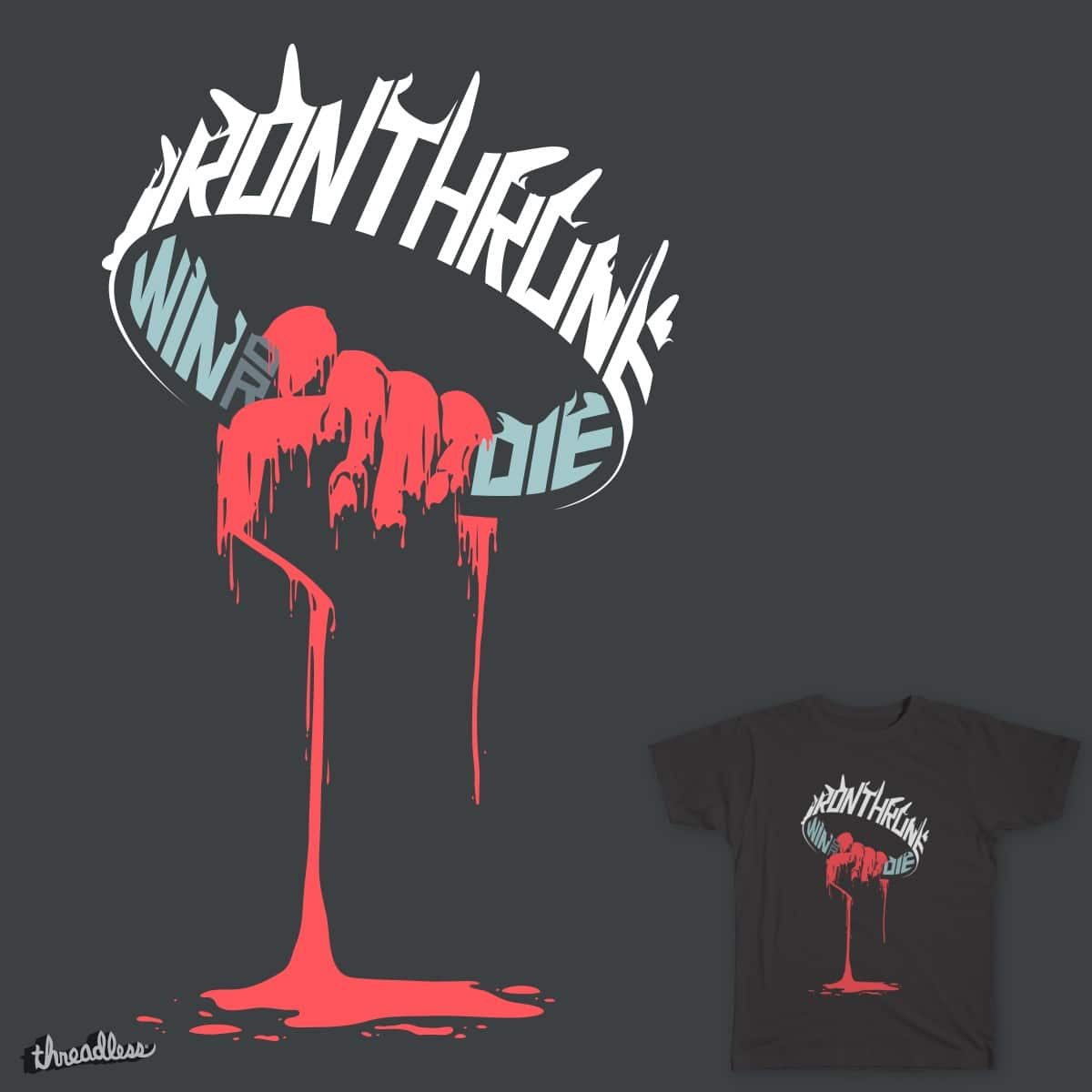 Iron and Blood by jlo2006 on Threadless