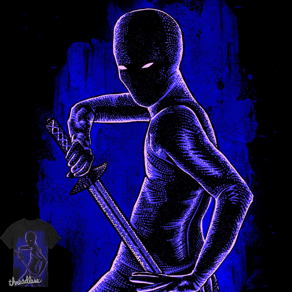 Blue Ninja by barmalisiRTB on Threadless