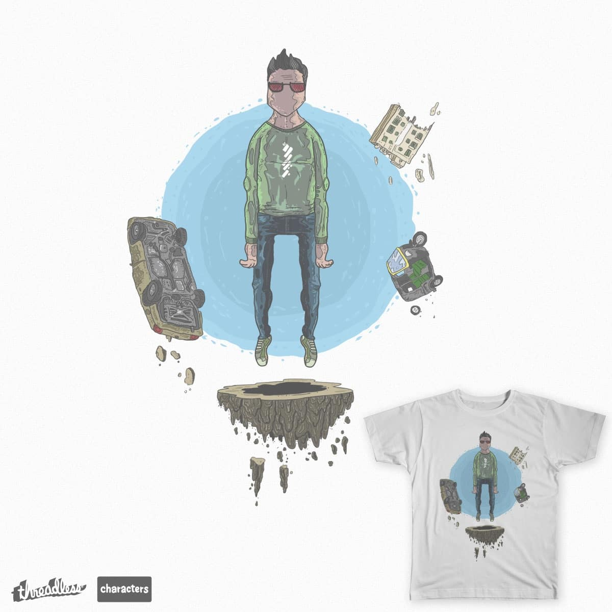 stranger  by MokhtarZain on Threadless