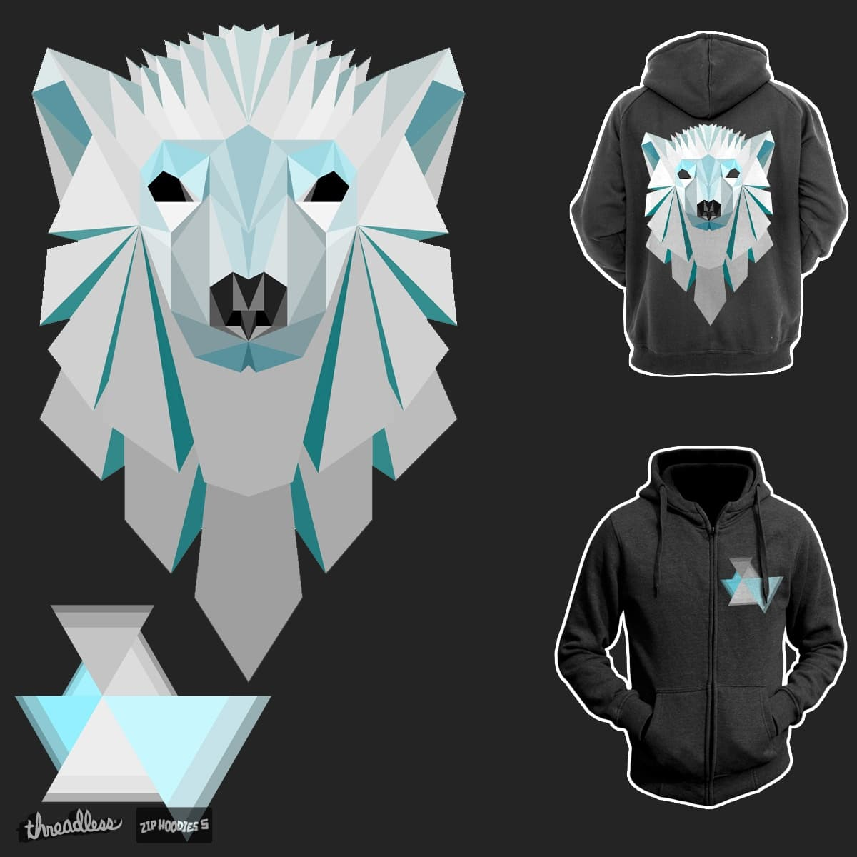 Polar Geometry by BrainMatter on Threadless