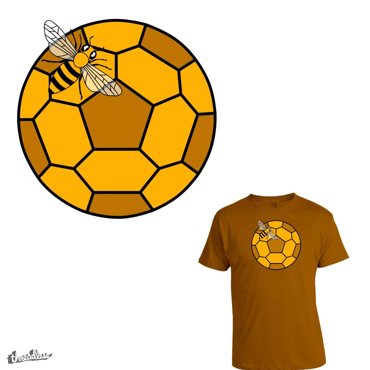 Bee Ball by intoresting on Threadless