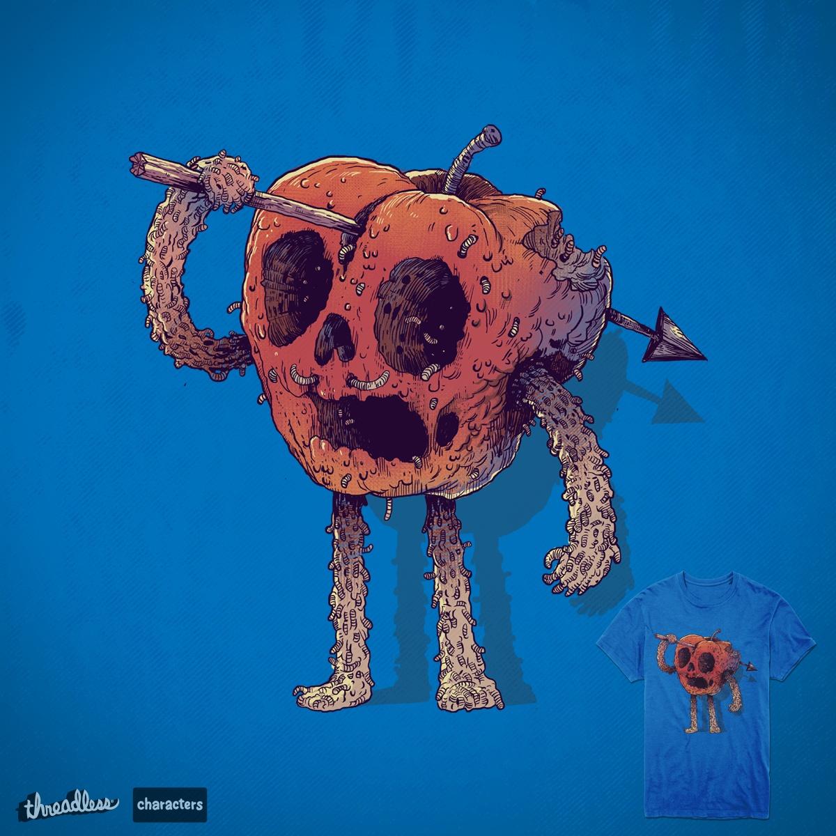 Rotten apple by digitalcarbine on Threadless