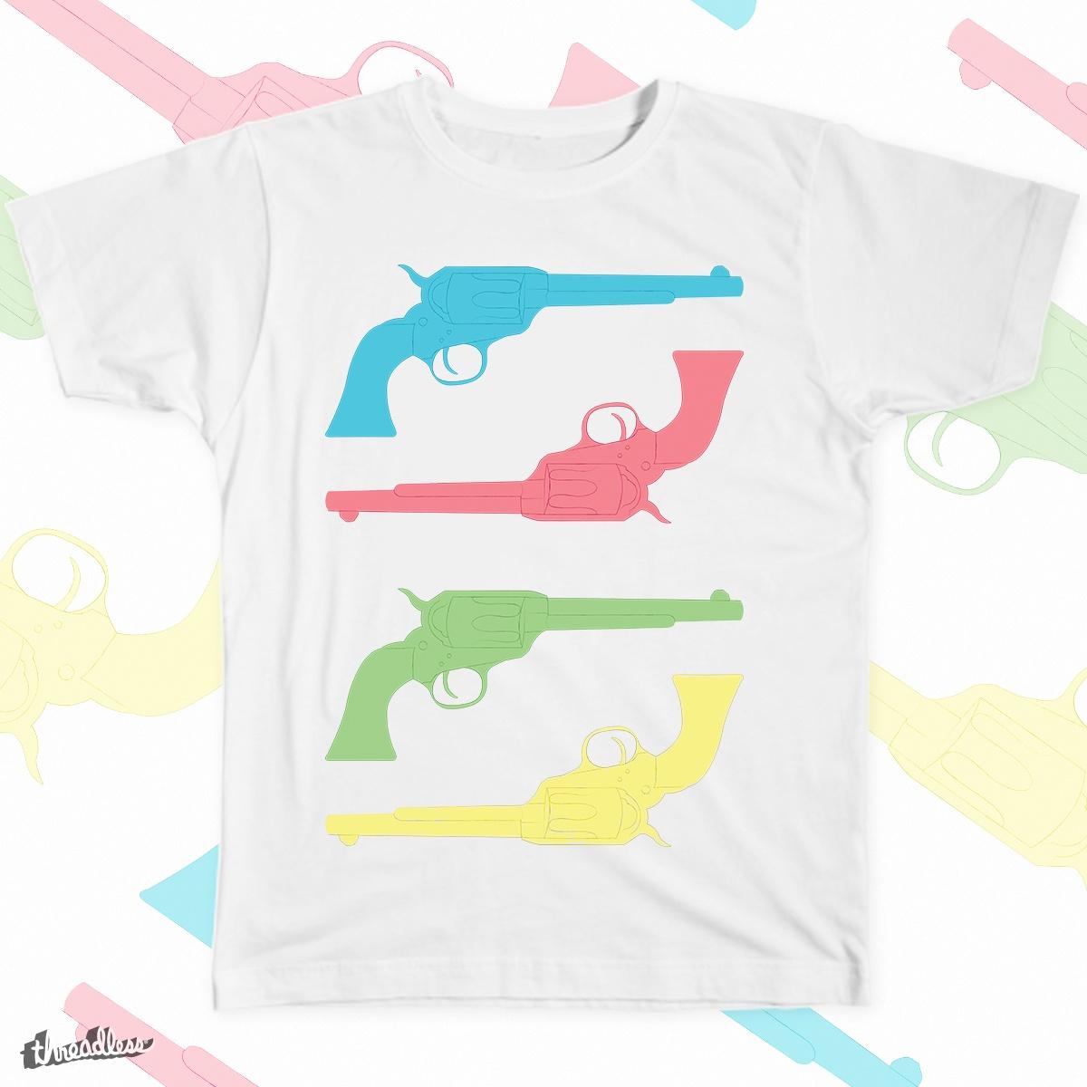 Guns by Krab-Graphix on Threadless