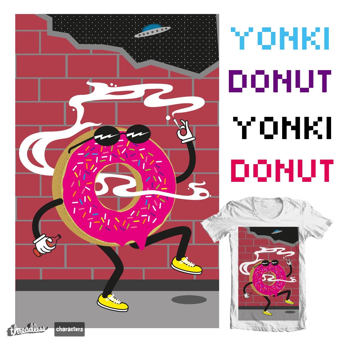 yonki donut  by insomnio cruel on Threadless
