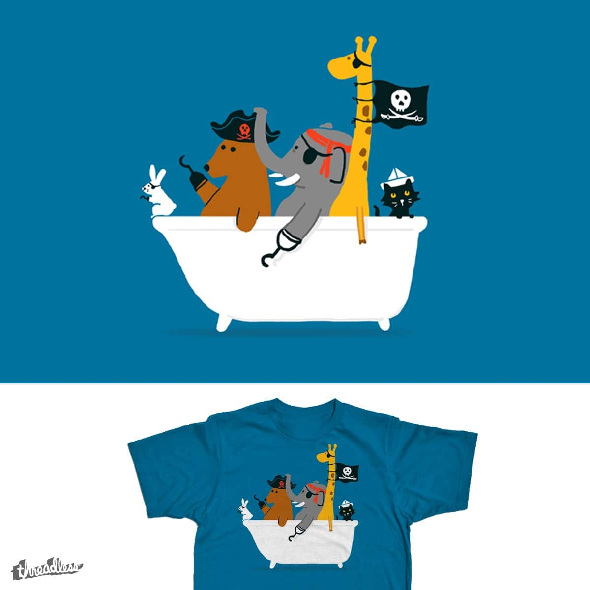 Everybody wants to be the pirate by radiomode on Threadless