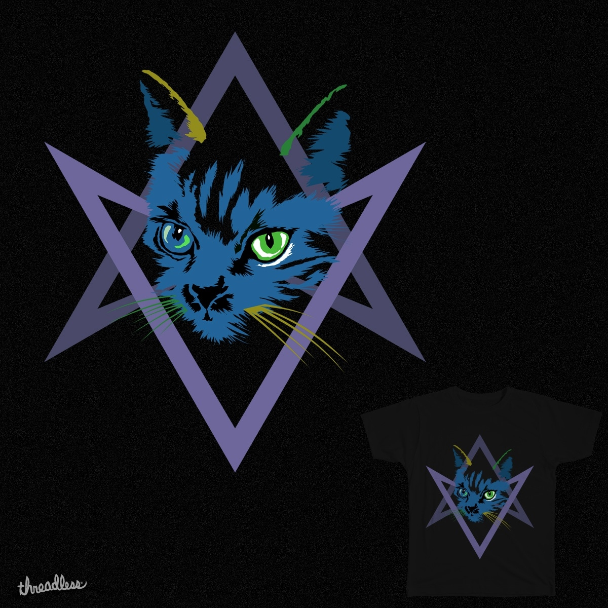 Cat is  Love, Love Under Will by RAdesigns on Threadless