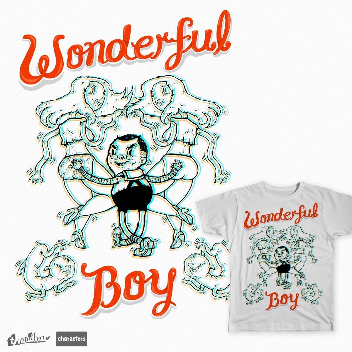 wonderful joey boy by jwan gutoma on Threadless