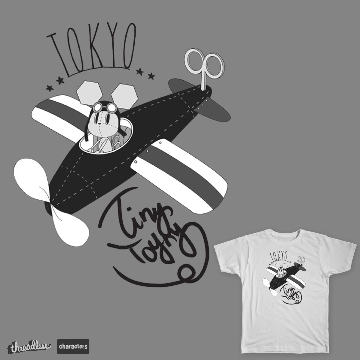 Tiny Toyny by Hinako on Threadless