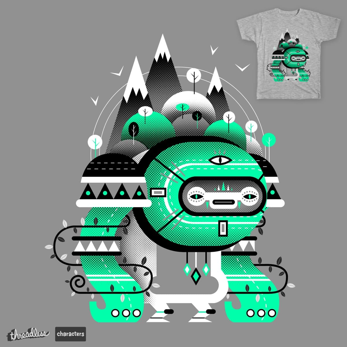 Mountain Spirit by M-e-p on Threadless