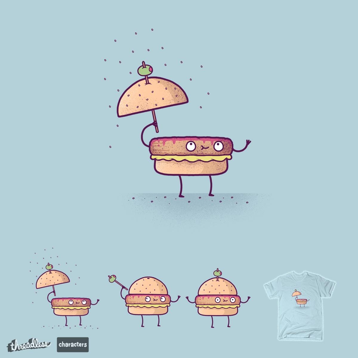 Burgerbrella by randyotter3000 on Threadless