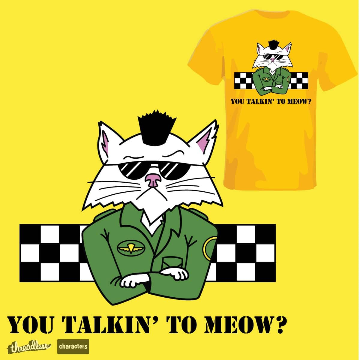 Taxi Cat by cujowilson on Threadless