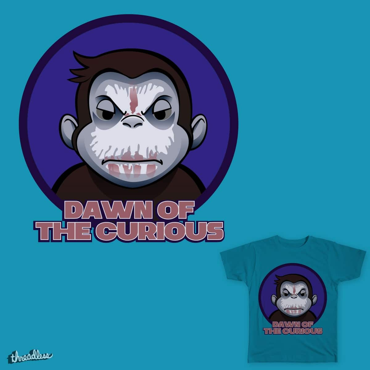 Dawn of the curious by manugap84 on Threadless