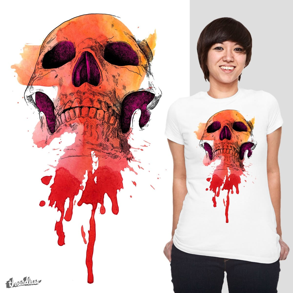 Vanitas by Quequito on Threadless